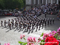 Beat Retreat in Guildhall Square (1st August 2008)