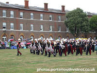 Band of HM Royal Marines At The Royal Marines Museum (26th July 2009)